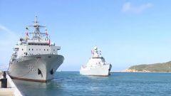 海軍第34批護航編隊完成任務回國