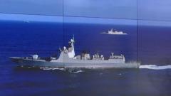 海軍第35批護航編隊組織兩艦雙機跨晝夜飛行訓練