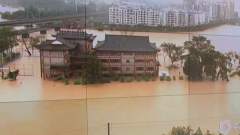 【南方遭遇入汛以來最強降雨 】 強降雨引發洪澇災害 部隊官兵展開搶險救援