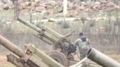 叙利亚政府军与反对派武装激烈交火