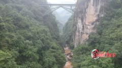 滇越铁路人字桥堪称奇迹 百年来屡遭破坏却依旧牢固