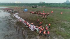 湖北省多部門聯合開展防汛搶險綜合演練