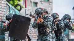 武警北海支隊:實戰實訓鍛造過硬本領 加鋼淬火錘煉反恐利刃
