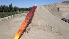 """""""炎""""值爆表!感受噴火訓練1000°C的青春烈焰!"""