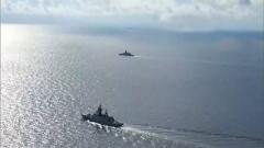 """俄罗斯与北约波罗的海""""同场""""军演"""