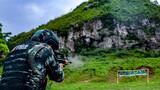 """快速轉換射擊考驗官兵在手槍和步槍轉換中能否""""快、穩、準""""。"""