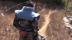 安全通道也暗藏危險 中國維和官兵受領任務雷區栽設界樁