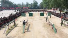 【直擊演訓場】武警某部:軍體運動會點燃夏日訓練場