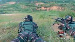 双人狙击小组默契配合 精准狙击展露实力