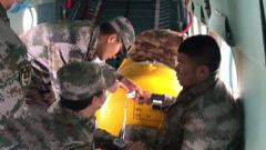 高空診療暗藏風險 醫護人員頂住壓力全力救治邊防戰士