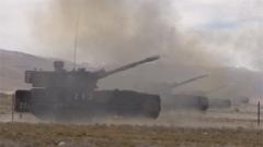 【直擊演訓場】火力全開 西藏軍區某旅多型裝備實彈綜合演練