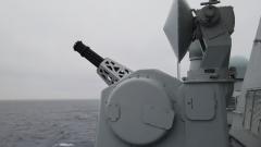 构设复杂战场环境 检验舰艇编队战法训法