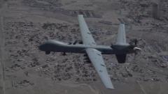 """美军首次将""""死神""""无人机部署至爱沙尼亚"""