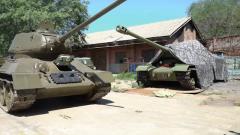 發揮教學功能 退役T-34坦克進入大學課堂