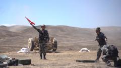 炮聲隆隆 新疆軍區某合成團組織實彈射擊訓練