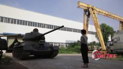 坦克炮塔操作體驗 軍迷直呼坦克兵真難當