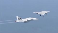 F-35戰機配備無人機群 開啟組隊作戰新模式?