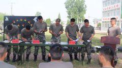 陸軍第71集團軍某旅:展評交流會為學習教育增效
