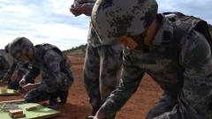 陸軍第75集團軍某合成旅開展實爆實噴專業訓練
