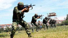 武警崇左支隊:實彈射擊錘煉實戰能力