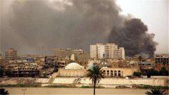 """伊拉克巴格達""""綠區""""遭4枚火箭彈襲擊"""