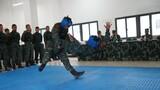 特戰隊員進行徒手搏斗對抗