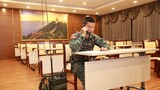 特戰隊員進行密語報話考核