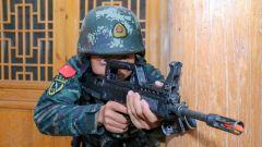 直擊武警甘肅總隊臨夏支隊極限訓練現場