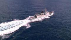 【直击演训场】海军某驱逐舰支队:南海海域多课目实战化训练