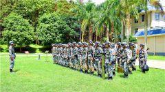 南部战区陆军某边防旅严密组织半年军事考核