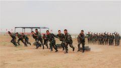 武警吴忠支队:勤训轮换 锤炼过硬战斗力