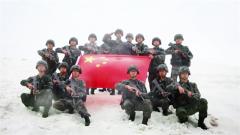 【我为祖国守边关】西藏边防 官兵顶风冒雪守护家国