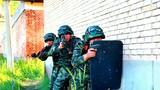 特战队员隐蔽接近目标。