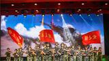 """风雨兼程浴血荣光,英雄铁骑历史辉煌。在中国共产党成立99周年来临之际,驻守在天山脚下的新疆军区某师举办""""强军有我、使命在肩""""专题文艺晚会,用兵言兵语讲述强军故事,用兵情兵韵展示铁骑风采。"""