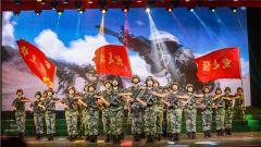 """新疆军区某师举办""""强军有我、使命在肩""""专题文艺晚会"""