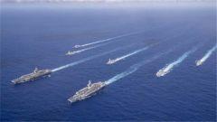 美国双航母在西太搞联演有何目的? 专家:恢复前沿部署安抚盟友