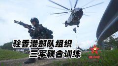 【第一军视】现场视频!驻香港部队组织三军联合训练
