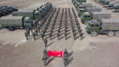 新疆軍區某團:以實彈射擊優異成績為黨慶生