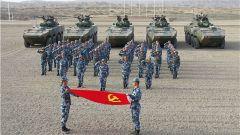 战地话初心 岗位担使命:海军陆战队某旅开展主题党日活动