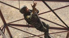 武警新疆總隊巴音郭楞支隊實戰化練兵掠影