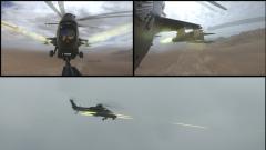 【第一军视】战斗力爆表!直升机多弹种实弹射击火力全开