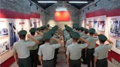 我是黨員!武警某部七支隊開展多項活動慶祝黨的生日
