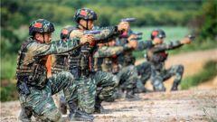 枪枪毙敌!特战队员从难从严锤炼射击硬功