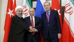 俄土伊三国商讨叙利亚局势