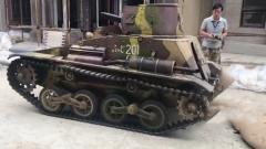 这也是一门艺术 探秘坦克道具做旧