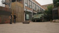 """开动虎式坦克模型 体验不一样的""""坦克驾驶"""""""