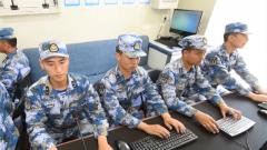 海军某试训区组织武器试验测控训练