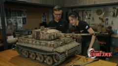 了不起的制作!虎式坦克模型做工精細 真實感滿滿
