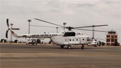 中国赴苏丹维和直升机分队圆满完成换件试飞任务
