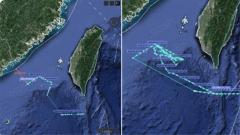 """曹卫东:美言而无信舰机频繁现身台湾海峡 国防部曾用""""三个严重""""回应"""
